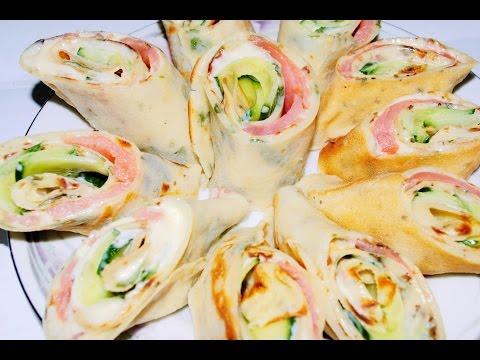 Закуски блинчиков рецепты фото