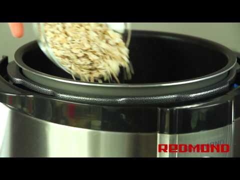 Рецепты геркулесовой каши в мультиварке редмонд