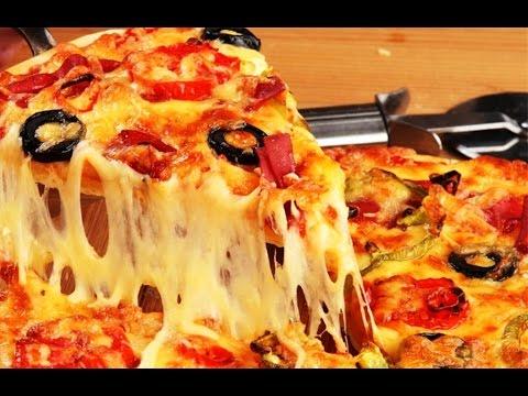 как приготовить пиццу простой рецепт