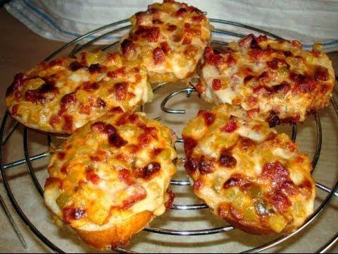 Мини пицца на сковороде рецепт с фото