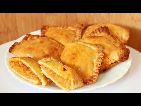 Слоеные пирожки с капустой рецепт фото