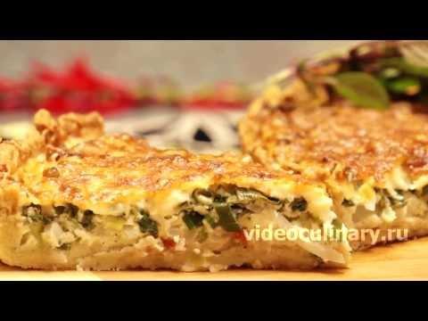 видео рецепт песочного торта