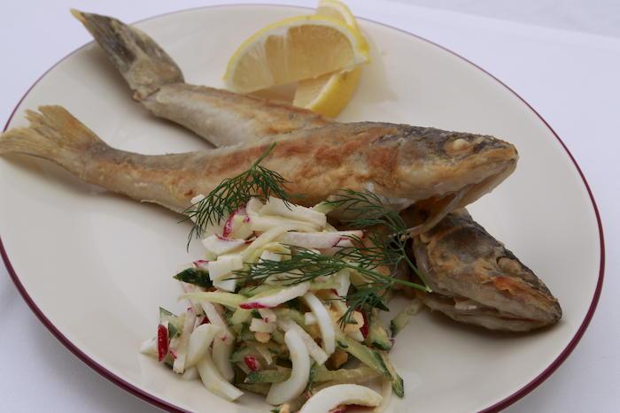 морской окунь рецепты жареный сковороде фото