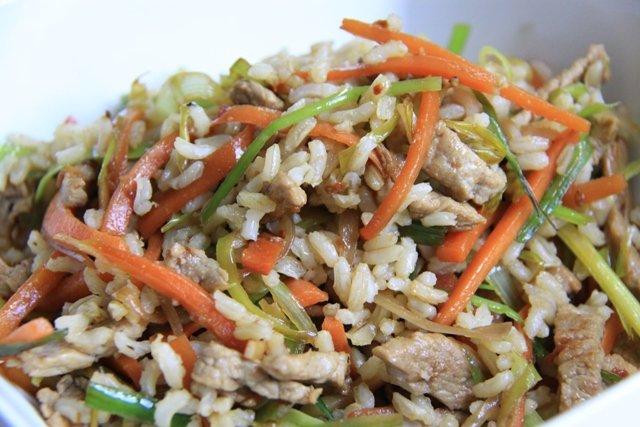 Бурый рис рецепты с фото