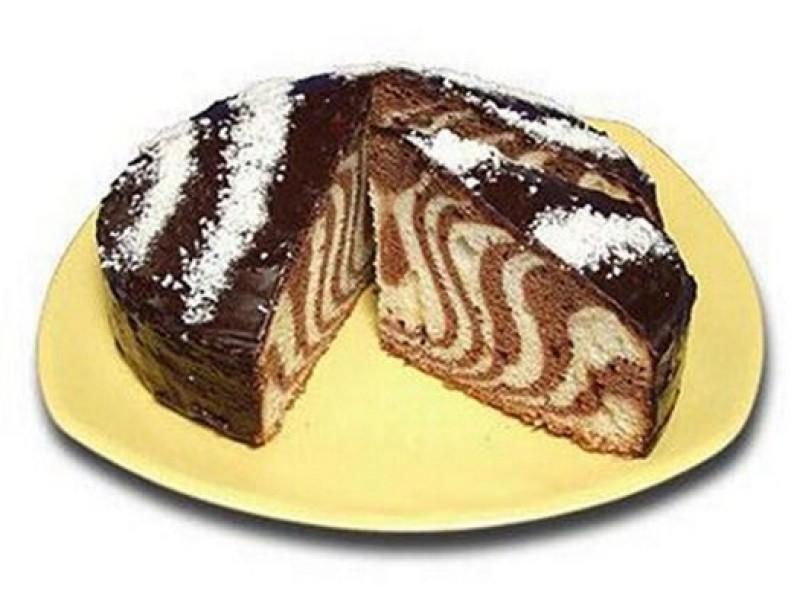торт зебра рецепт с фото на майонезе