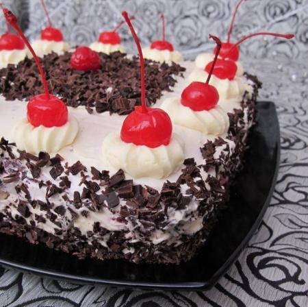 Рецепт торт Пьяная вишня. Особенности приготовления