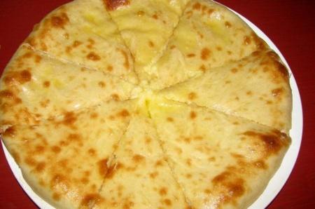 Сырный осетинский пирог. Очень вкусное блюдо