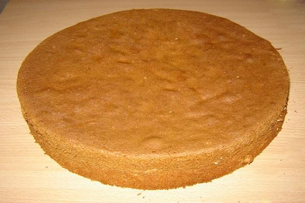 Корж для торта фото