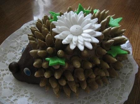 Торт Ежик из печенья. Особенности приготовления
