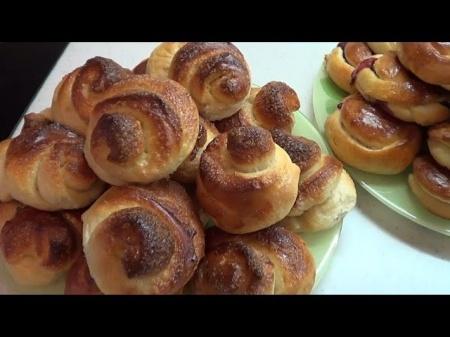 Сладкие булочки в хлебопечке. Особенности приготовления