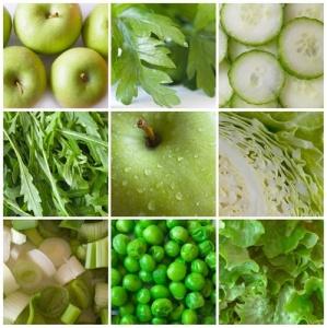 Диета зеленого цвета