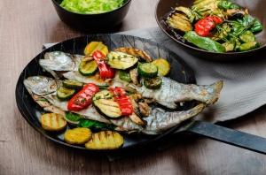 Блюда ресторанной кухни – «Форель диетическая»