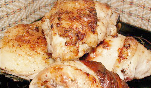 курица кусками в духовке рецепты с фото