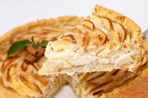 Пирог «Цветаевский с яблоками»