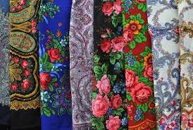 Русский стиль - павлопосадские платки