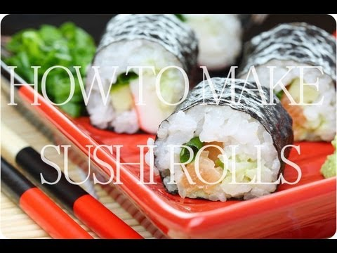 Готовим роллы / How to Make Sushi Rolls