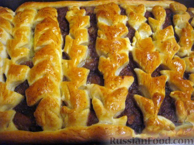 Пироги из дрожжевого теста с курагой рецепты с