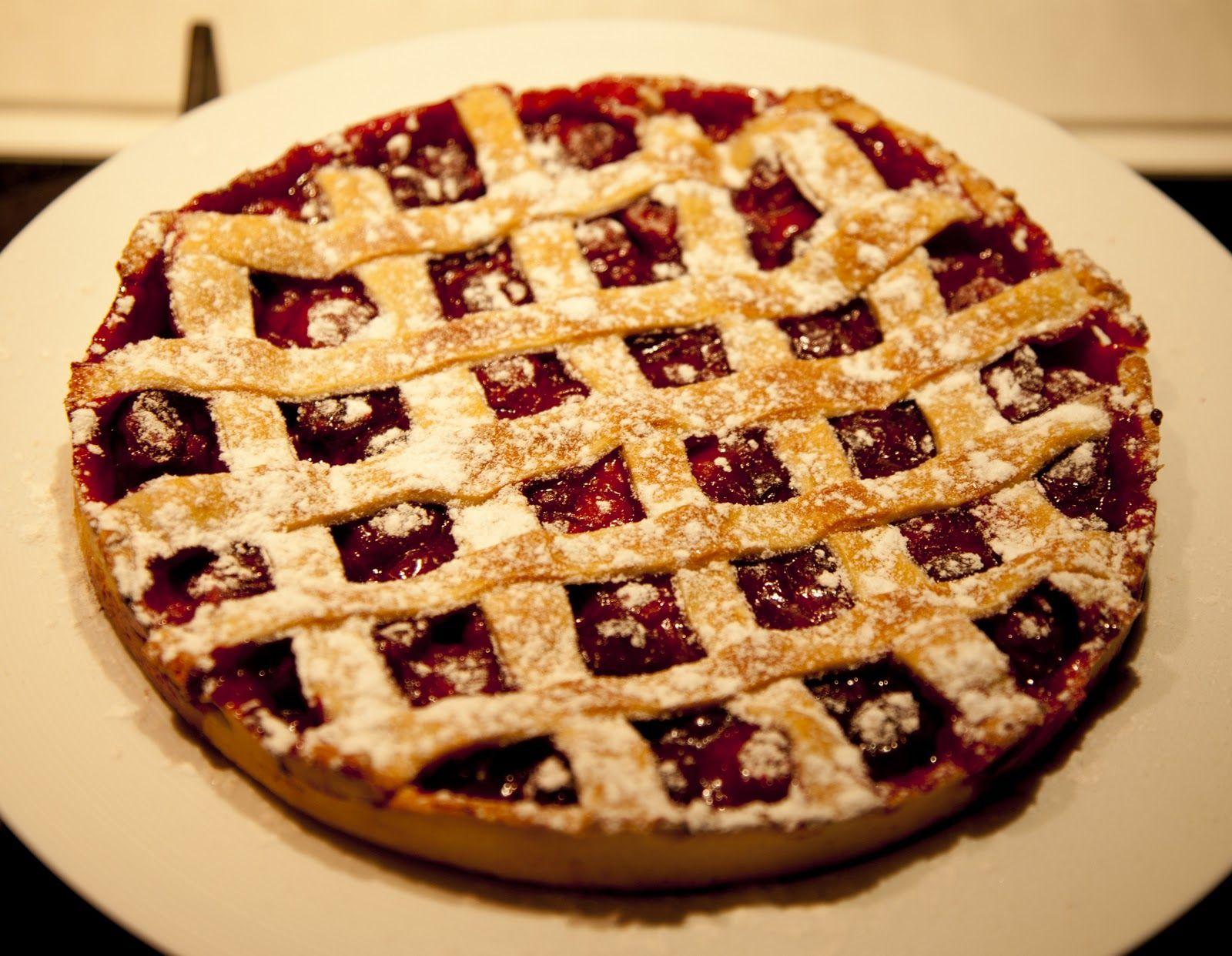 Как сделать вишнёвый пирог в домашних условиях