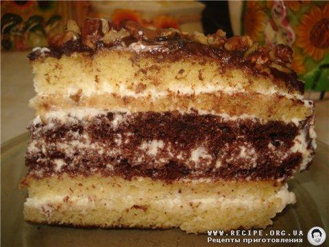 рецепты сметанного торта с фото