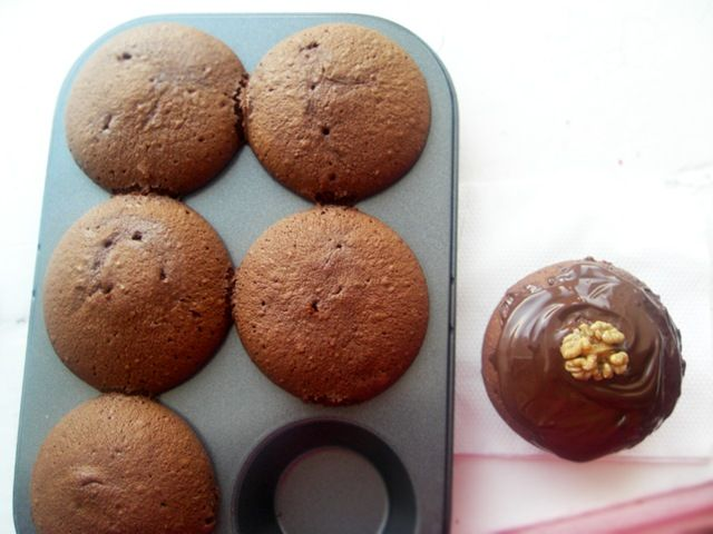 Шоколадные маффины простой рецепт пошагово