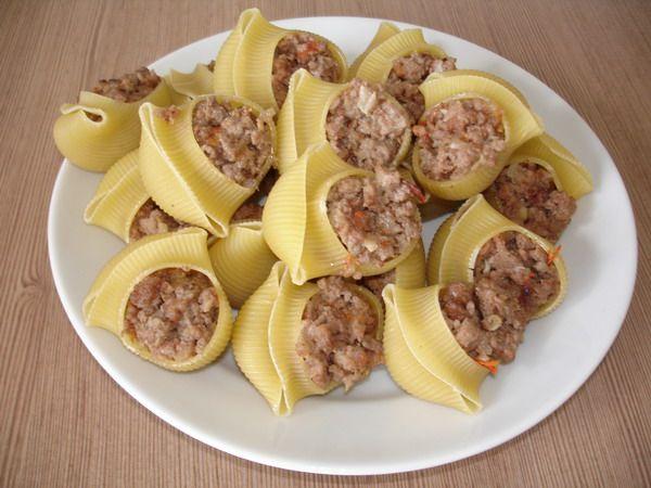 Фаршированные макароны в духовке рецепты