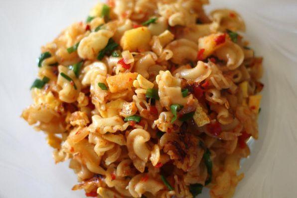 жареные спагетти рецепт с фото