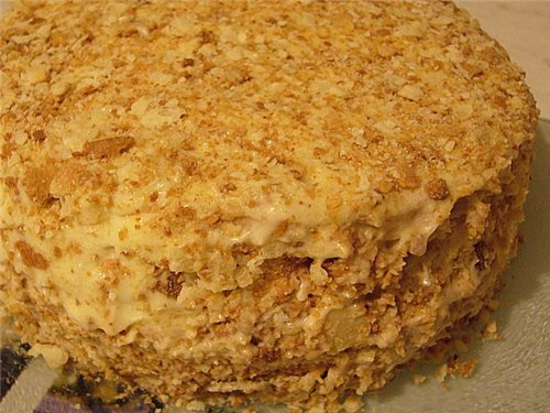 торт наполеон рецепт с фото готовим дома