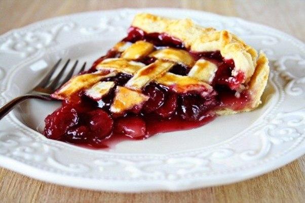 Пироги с черешней рецепты