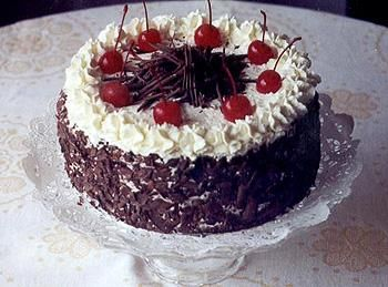 торт чёрный лес рецепт от селезнева