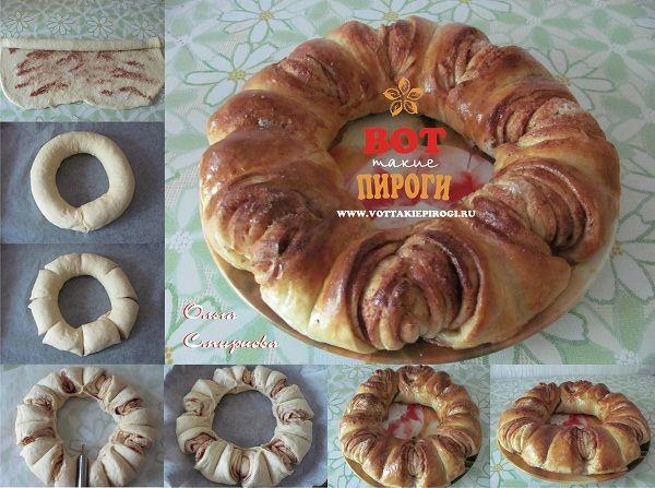 Пироги из дрожжевого теста рецепты сладкие с вареньем