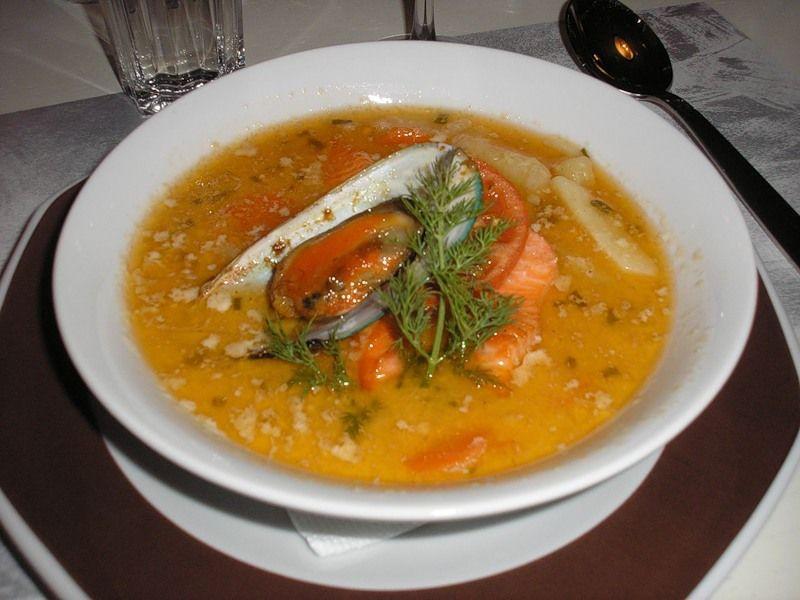 Рецепт как сварить рыбный суп