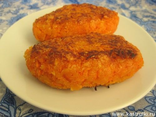 Рецепты морковные котлеты 148