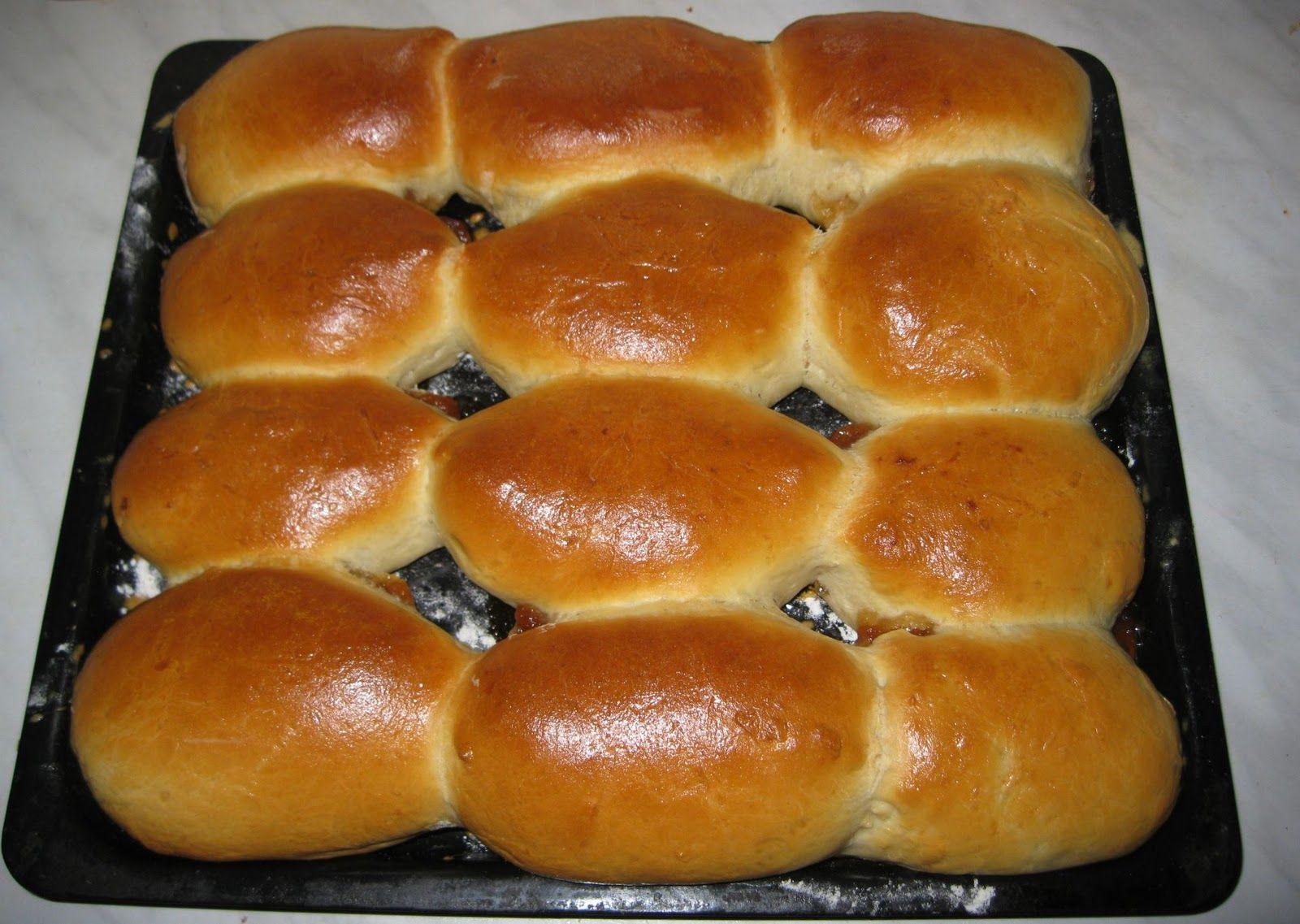 Дрожжевые пирожки с повидлом рецепт пошаговый