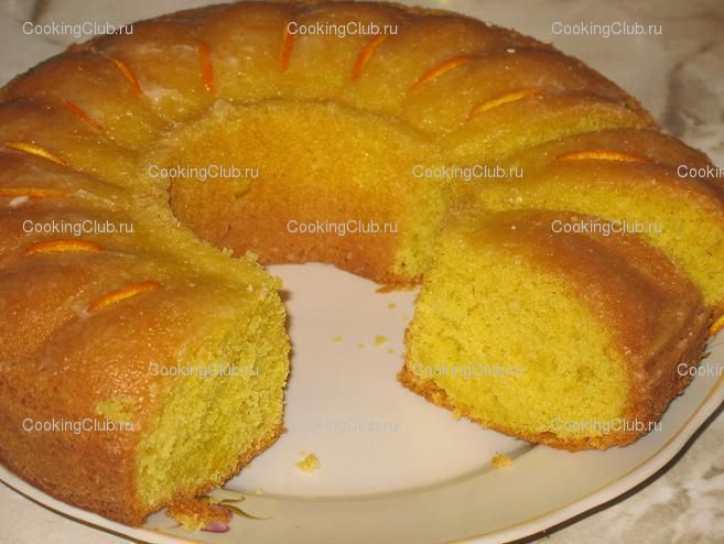 Лимонный кекс на сметане рецепт с пошагово