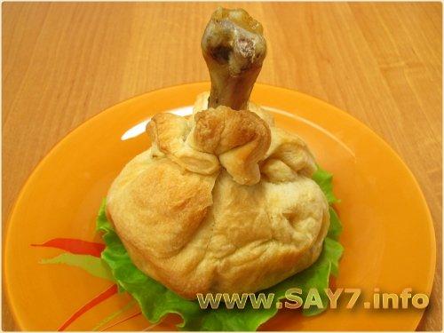 Рецепт курицы в тесте фото