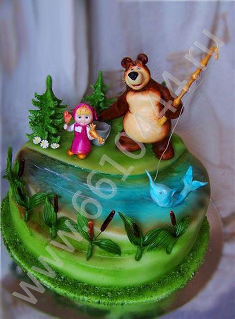 Торт маша и медведь из мастики рецепты