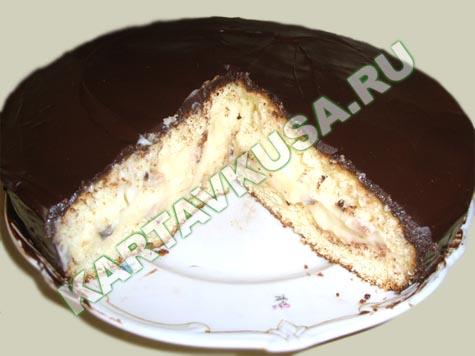 лёгкие рецепты тортов в домашних условиях с фото
