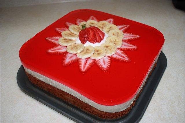 Торт желейний рецепт фото