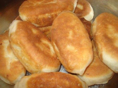 Пирожки с капустой на кефире без дрожжей в духовке рецепт