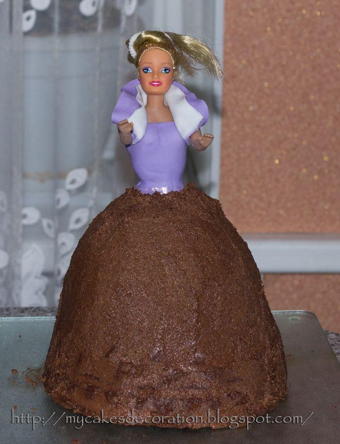 Торт кукла рецепт пошагово