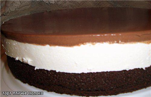 Торт птичье молоко рецепты пошагово с