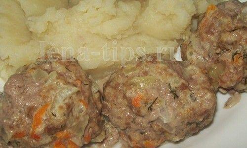 Котлеты на пару с картошкой в мультиварке рецепты с пошагово