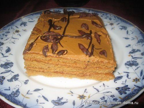 Торт пашка рецепт с фото