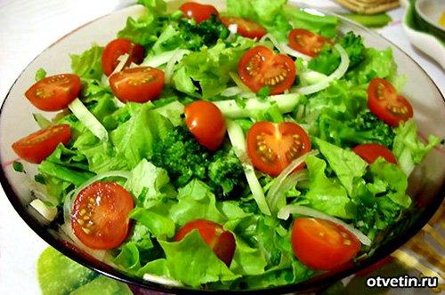 Модные рецепты салатов с простые и вкусные