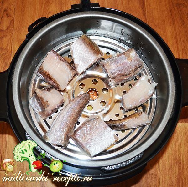 Рецепт как приготовить рыбу в мультиварке