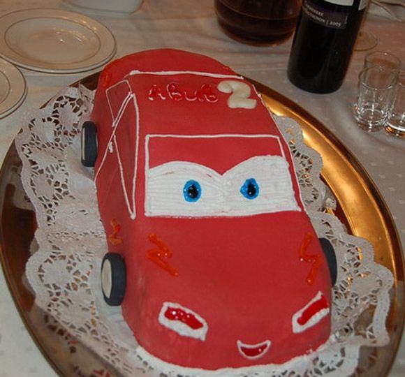 руками форма торта машинка своими