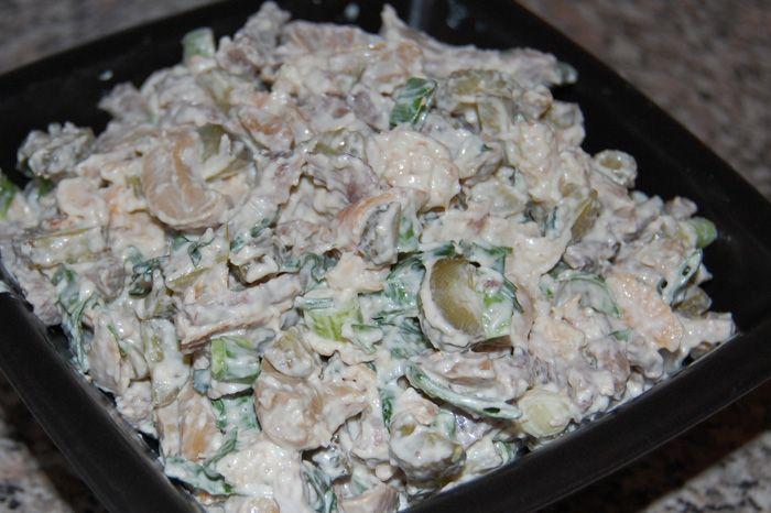 Мясные салаты простые и вкусные рецепты
