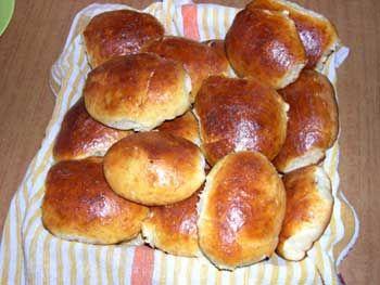 Пирожки с вишней в духовке рецепт из дрожжевого теста