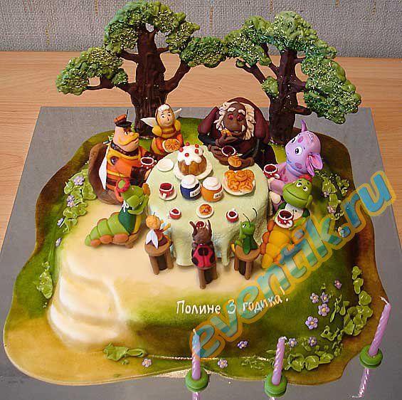 торти для дотей з фото