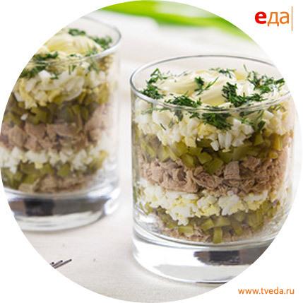Мясной салат рецепт с солеными огурцами рецепт с
